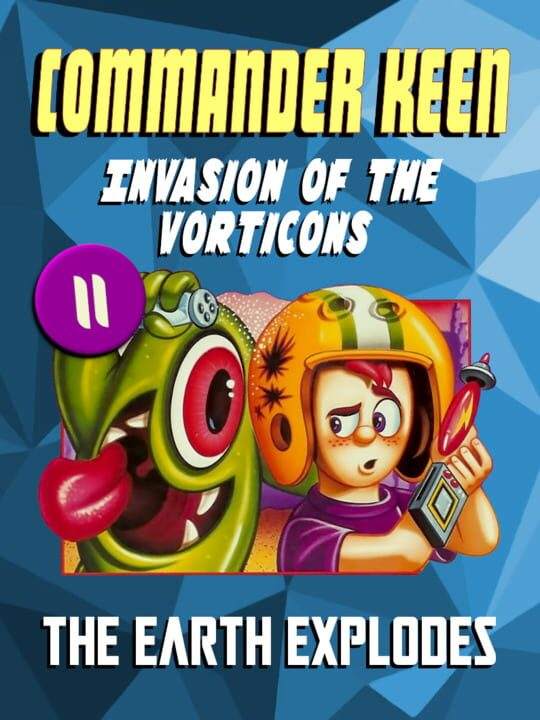 Commander Keen in Invasion of the Vorticons: The Earth Explodes