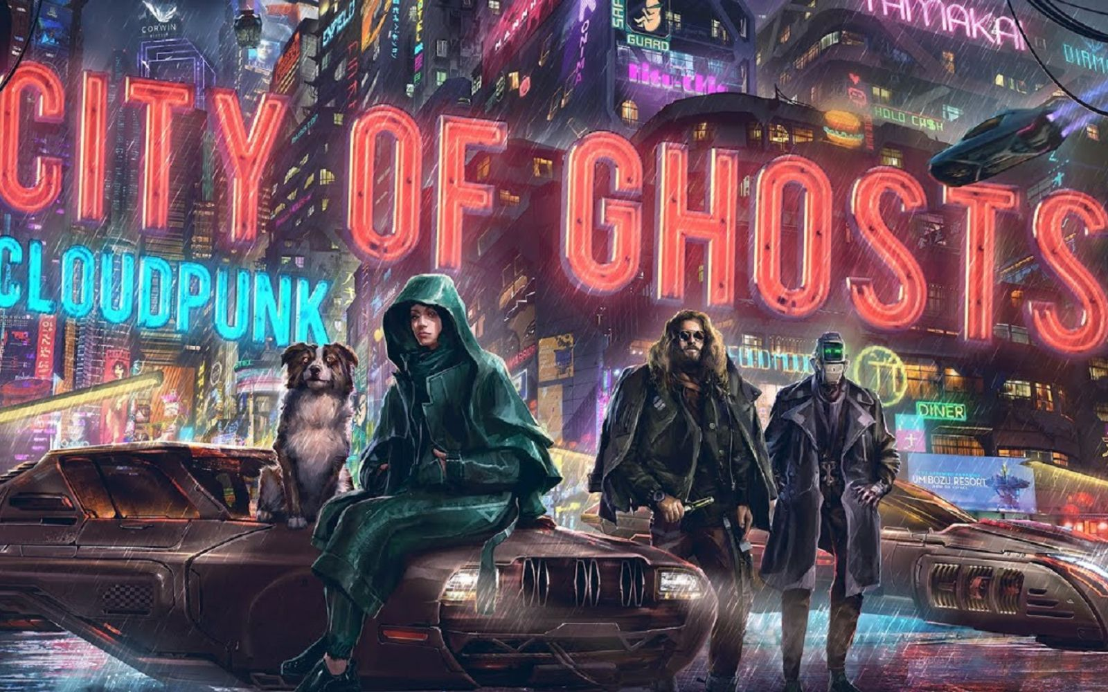 Cloudpunk - City of Ghosts magyarítás