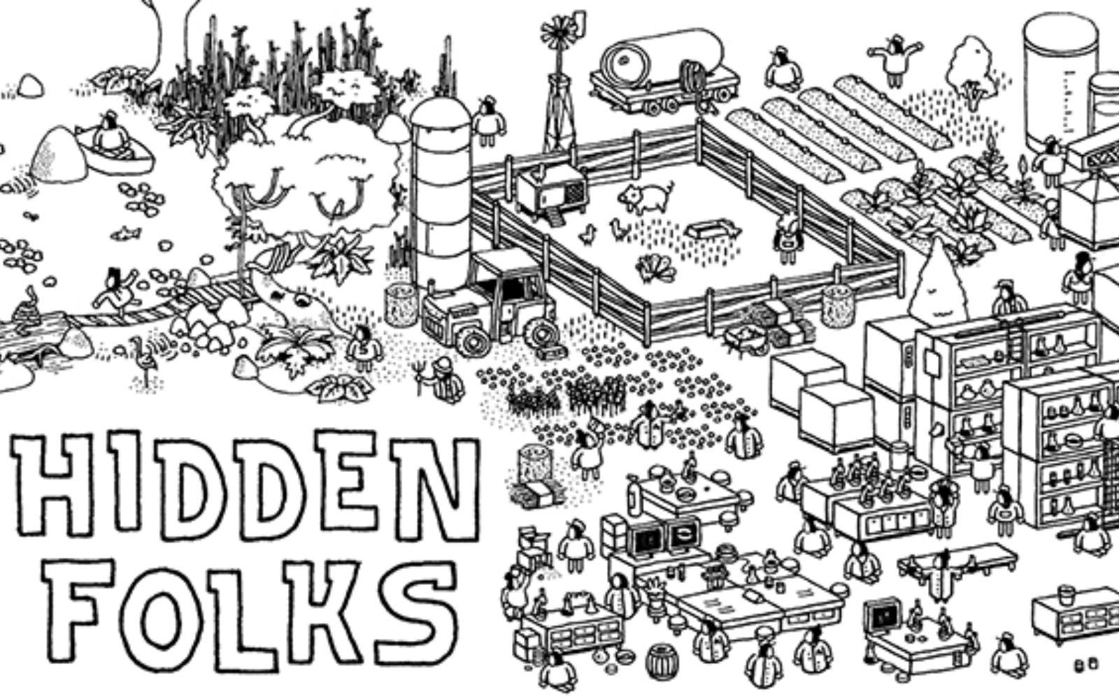 Elkészült - Hidden Folks