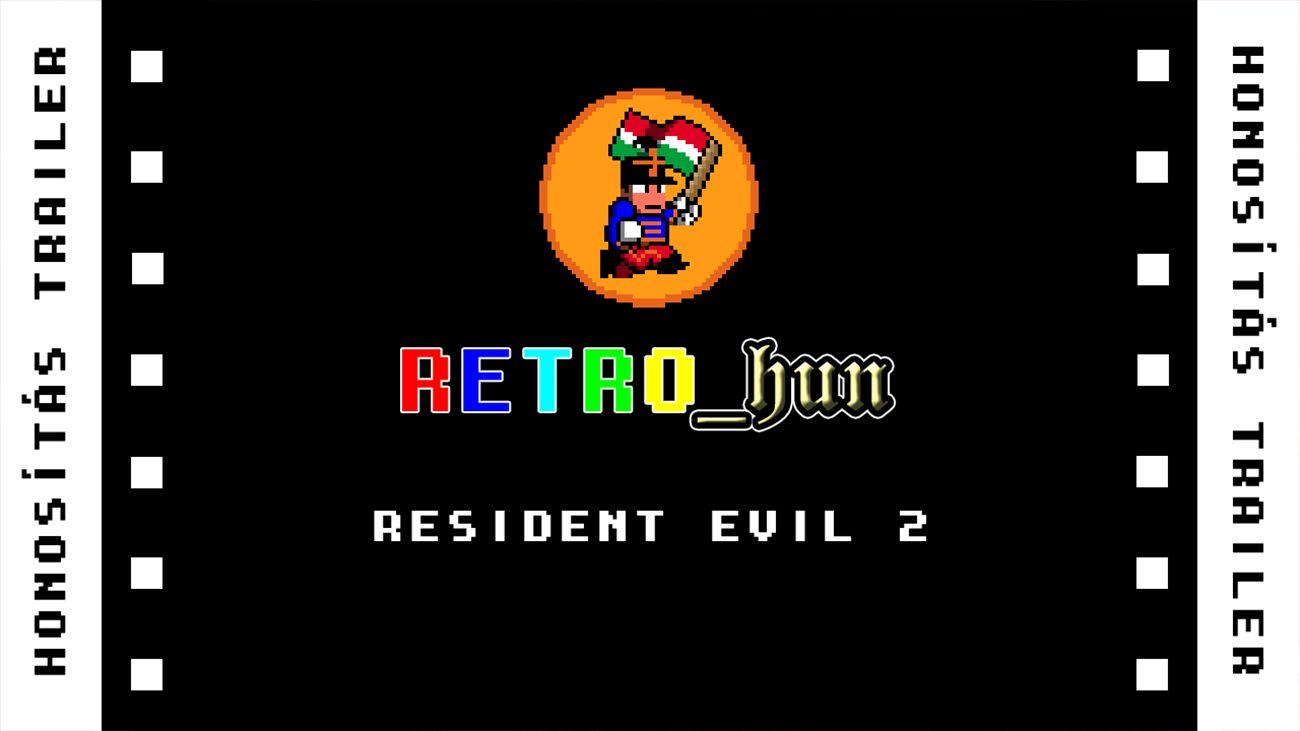 Resident Evil 2 magyarítás bejelentés